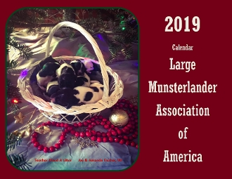 2019 LMAA Calendar  SOLD OUT